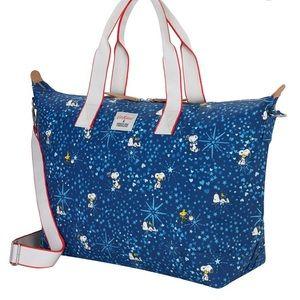 NWT Cath Kidston x Peanuts Snoopy Overnight Bag